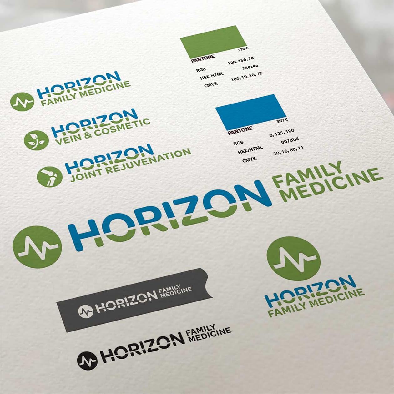 Horizon Family Medicine Identity Sheet