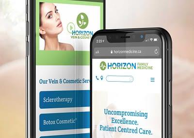 Horizon Family Medicine Mobile website