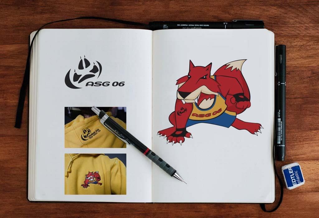 2006 Alberta Summer Games Mascot