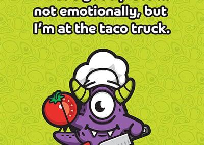 Taco Monster Meme