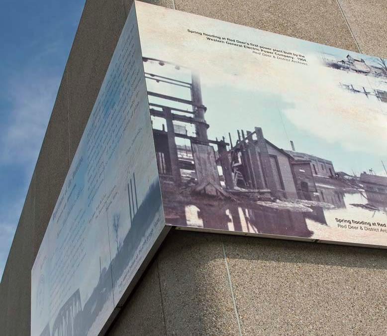 Water Treatment Intake Mural