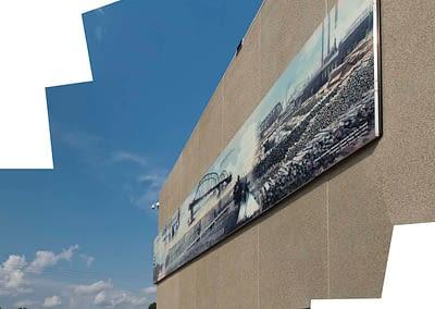 Water Treatment Mural
