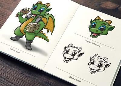 Fortboxx Dragon Illustration