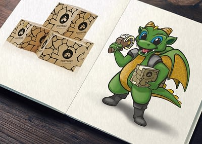 Fortboxx Dragon & Custom Box Illustration