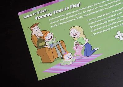 Alberta Health Services - Tummy Time Brochures