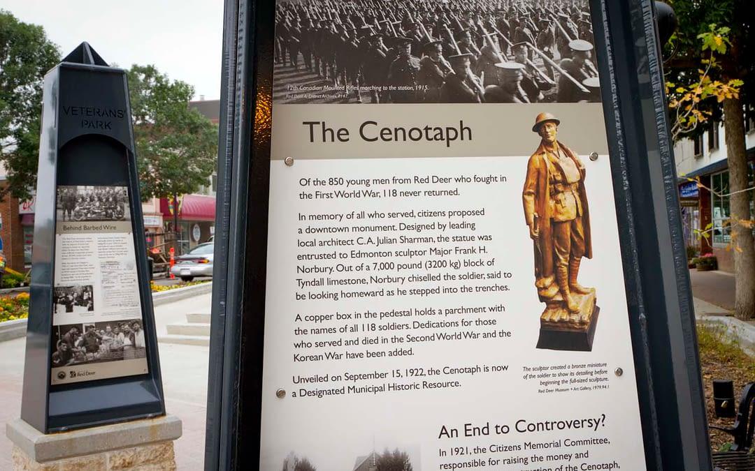 Veteran's Park Interpretive Sign Panels
