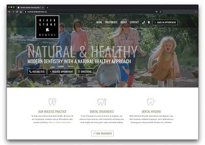 Riverstone Dental Website - Services