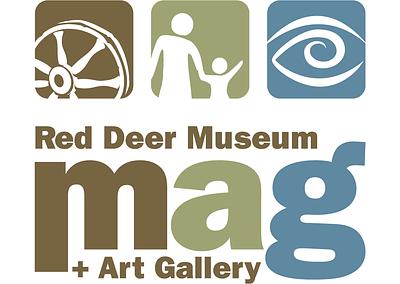 Red Deer Museum + Art Gallery Identity