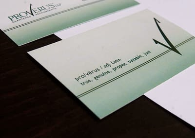 Proverus Chartered Accountants Identity