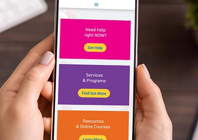 Outreach Centre Mobile Website